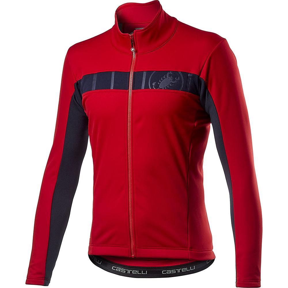 Castelli Mortirolo Vi Jacket  - Red  Red