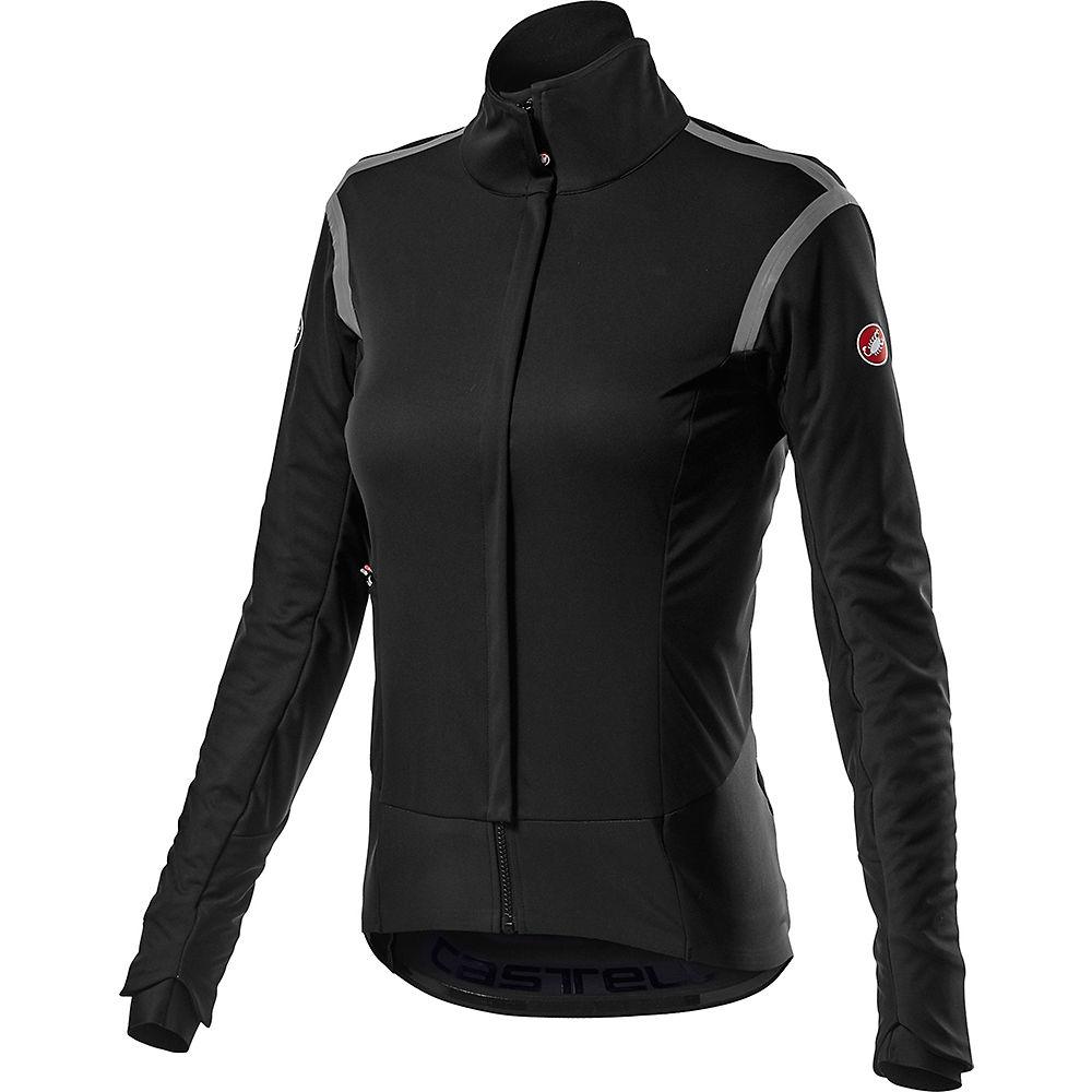 Castelli Women's Alpha ROS 2 Jacket - Light Black - XL, Light Black