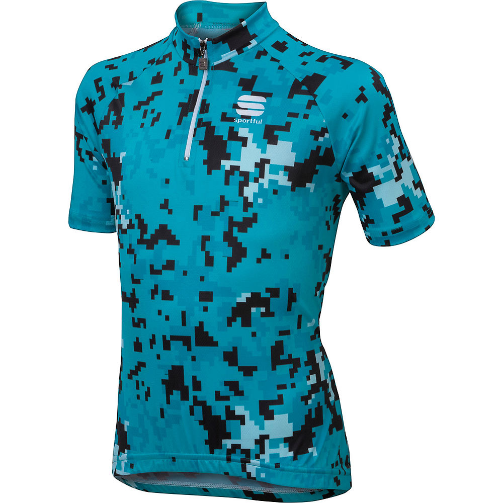 Sportful Kids Game Jersey  - Turquoise - 9-10 years, Turquoise
