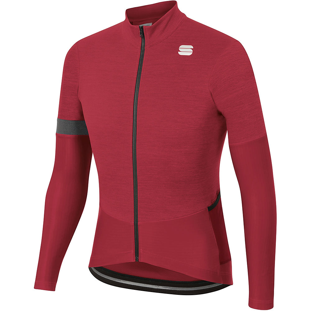 Sportful Supergiara Thermal Jersey - Red Rumba  Red Rumba