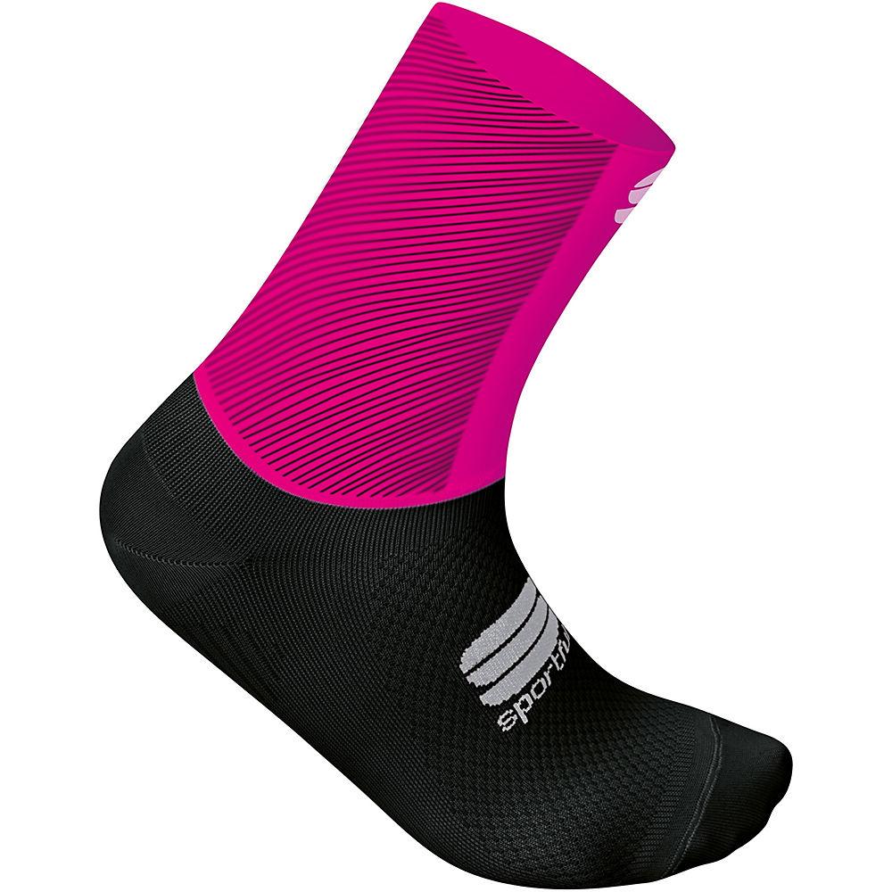 Sportful Womens Race Pro Socks  - Bubblegum-black - S/m  Bubblegum-black