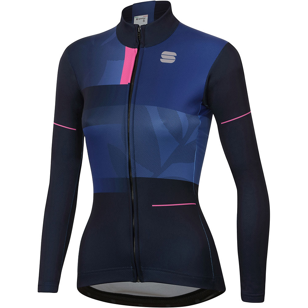 Sportful Womens Oasis Thermal Jersey  - Blue - Xl  Blue