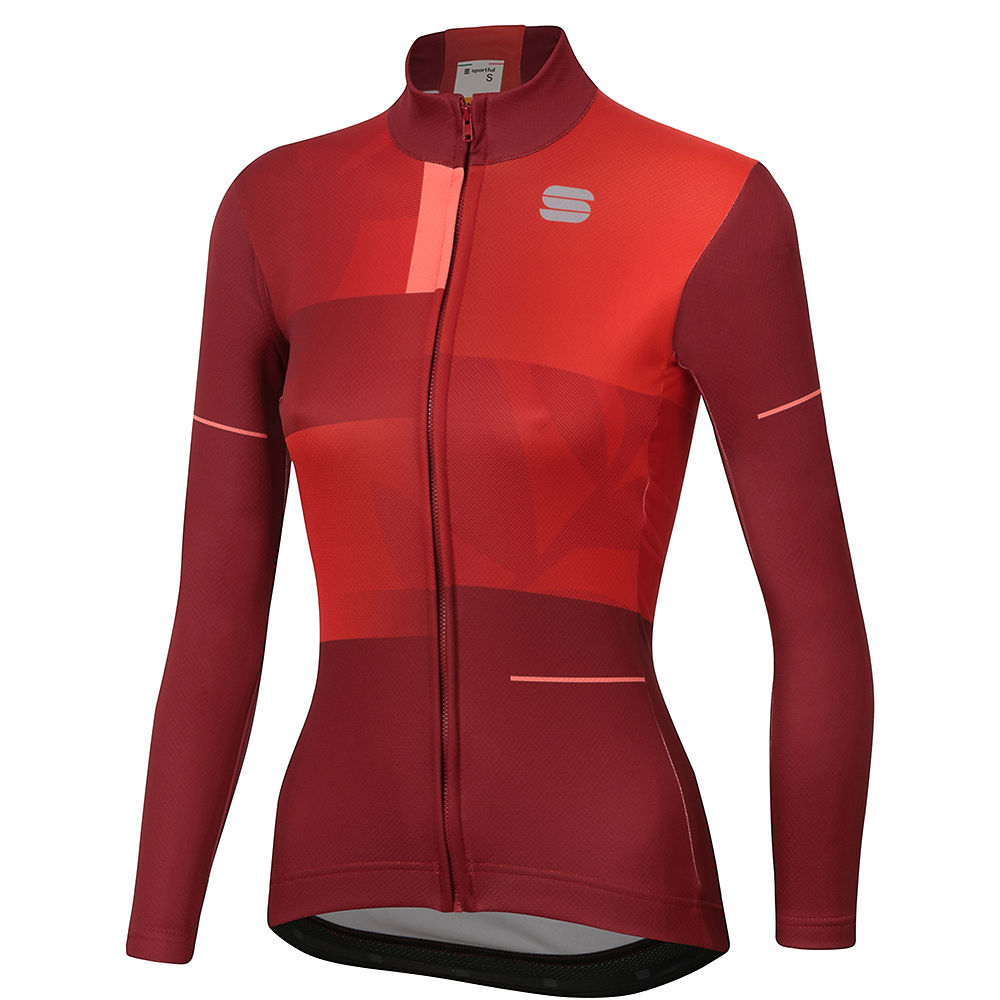 Sportful Womens Oasis Thermal Jersey  - Red Rumba - Xxl  Red Rumba