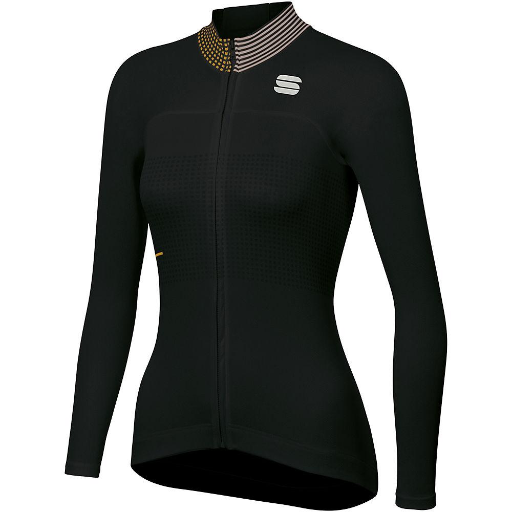 Sportful Womens Sticker Thermal Jersey  - Black  Black