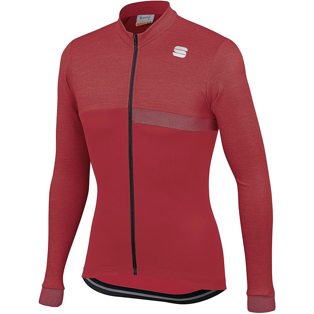 Sportful Giara Thermal Jersey  - Red Rumba  Red Rumba