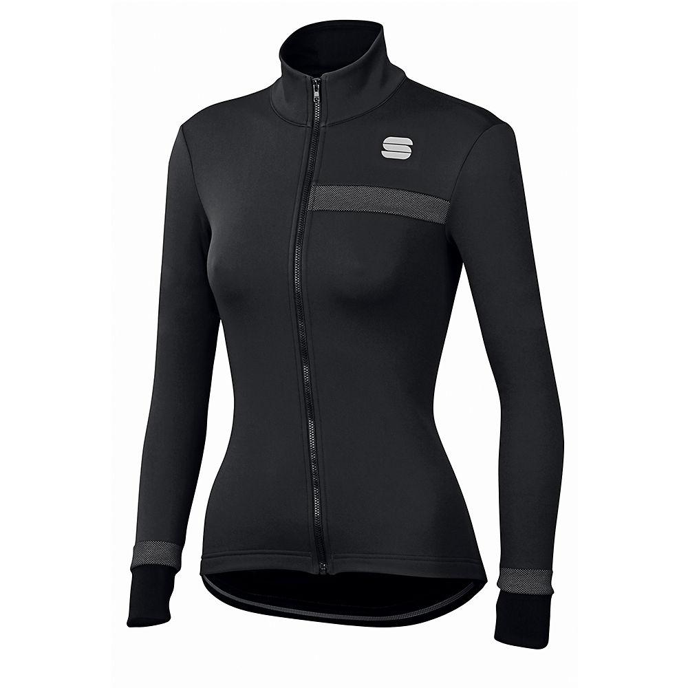 Sportful Womens Giara Softshell Jacket  - Black  Black
