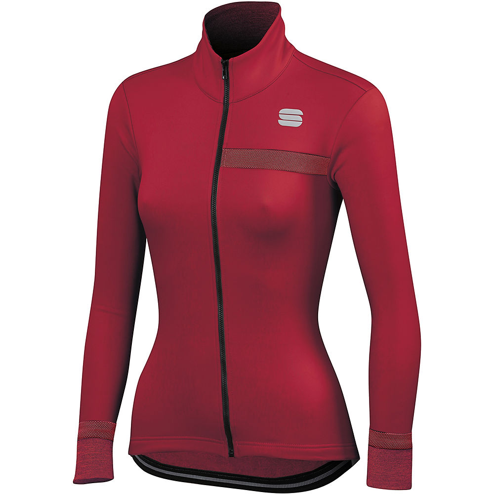 Sportful Womens Giara Softshell Jacket  - Red Rumba  Red Rumba