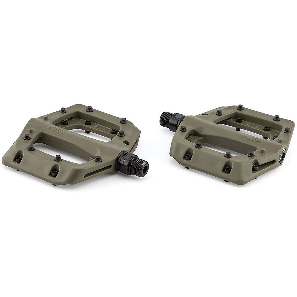 NS Bikes Bistro Pedals - Army Green, Army Green