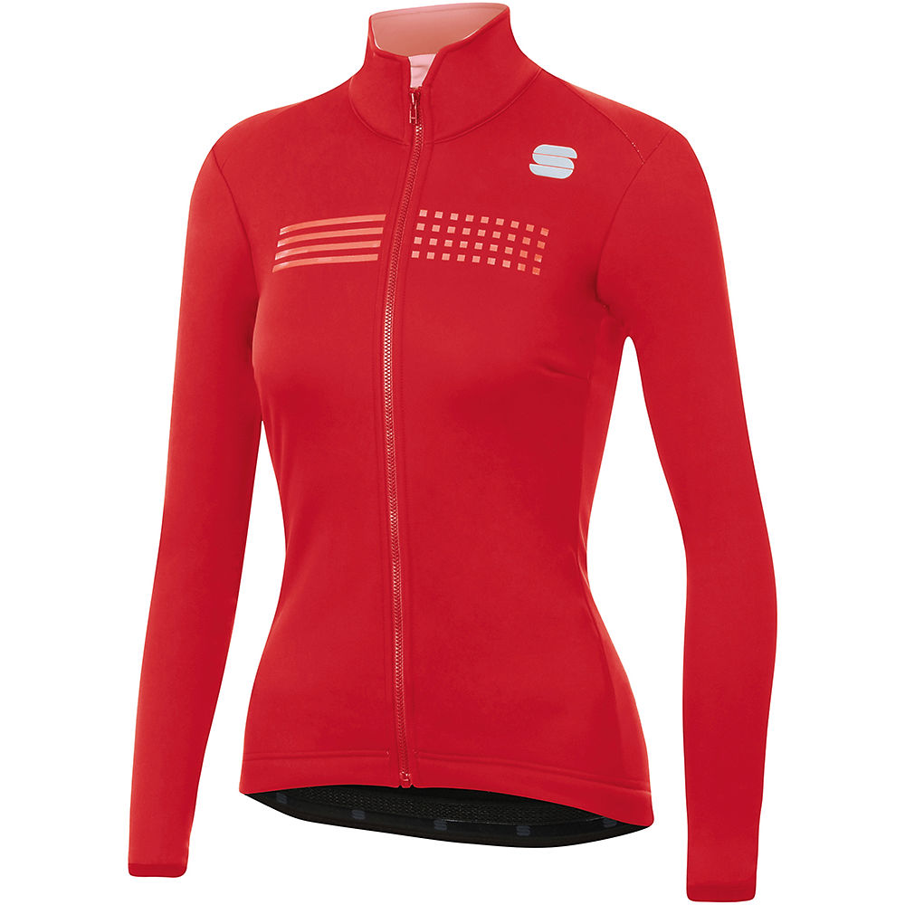 Sportful Womens Tempo Jacket  - Red  Red