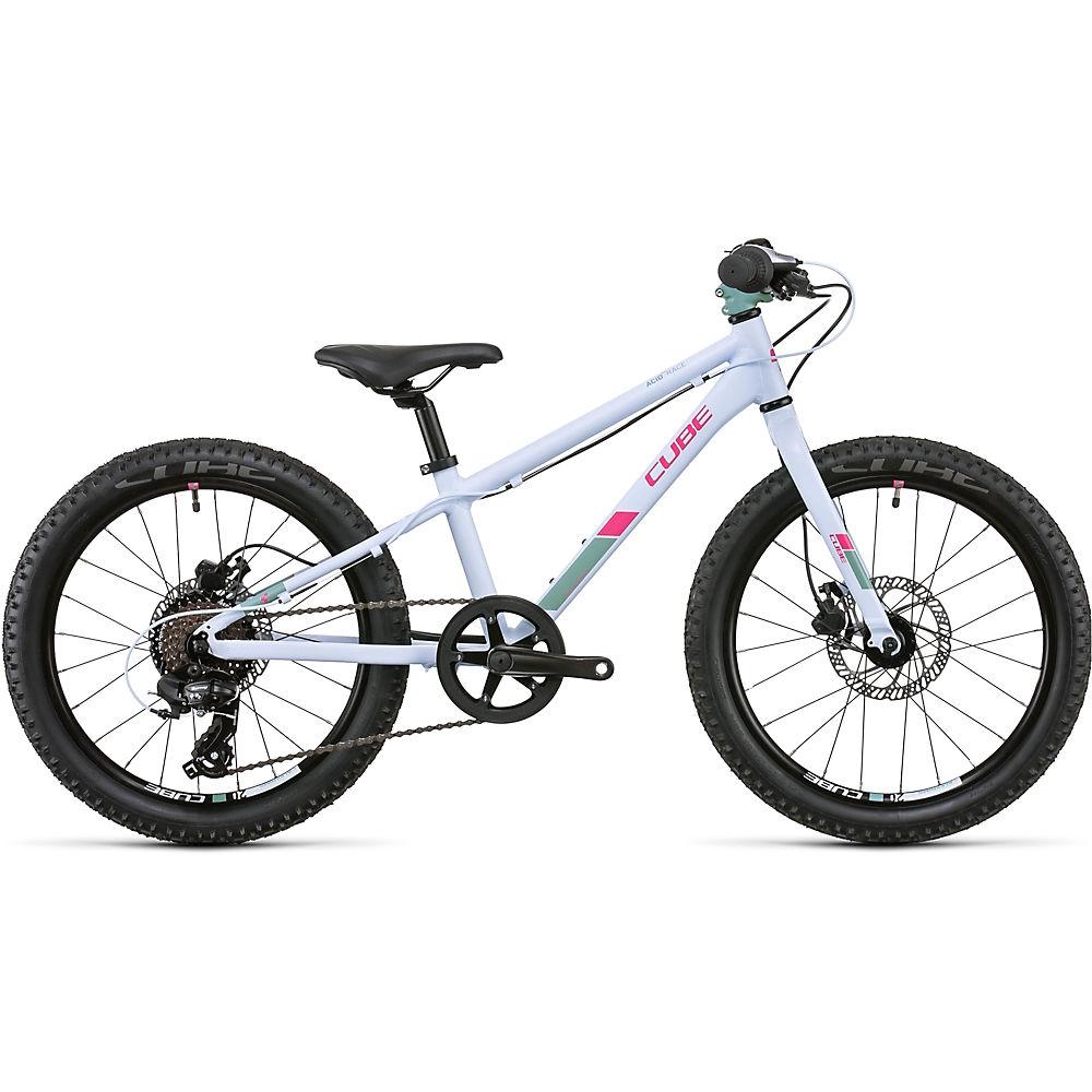 Cube Acid 200 Disc Kids Bike 2021 - Blue - Coral, Blue - Coral
