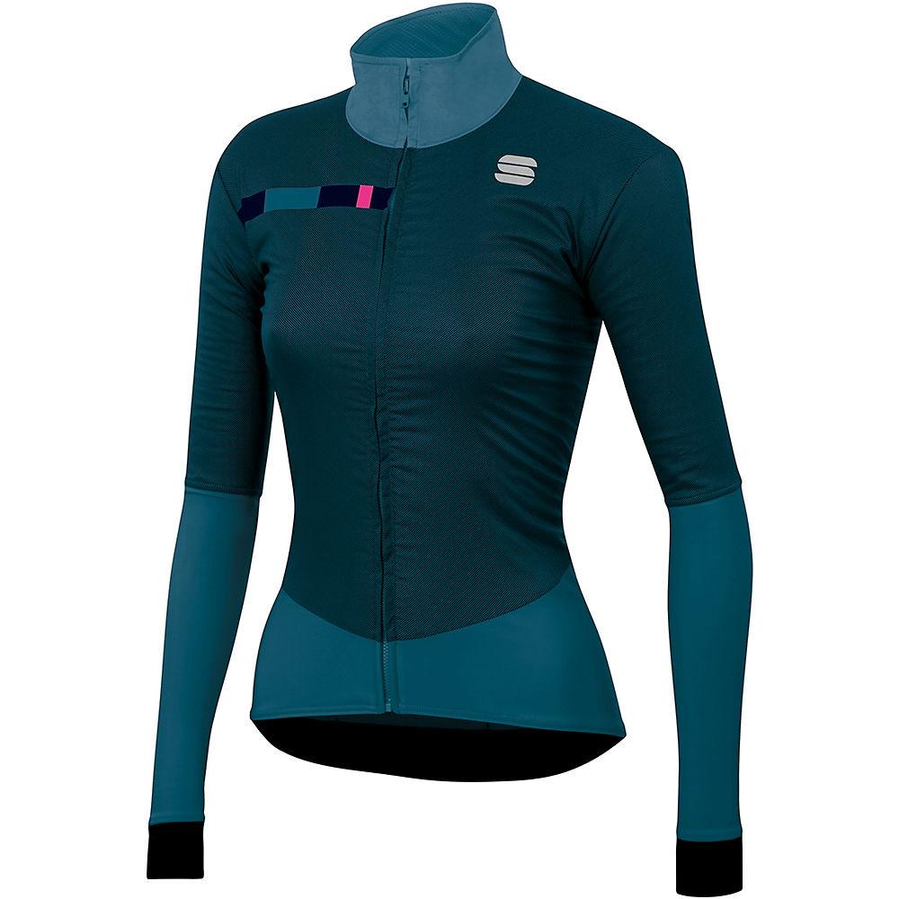 Sportful Womens Bodyfit Pro Jacket  - Blue Corsair-bubble Gum - Xs  Blue Corsair-bubble Gum