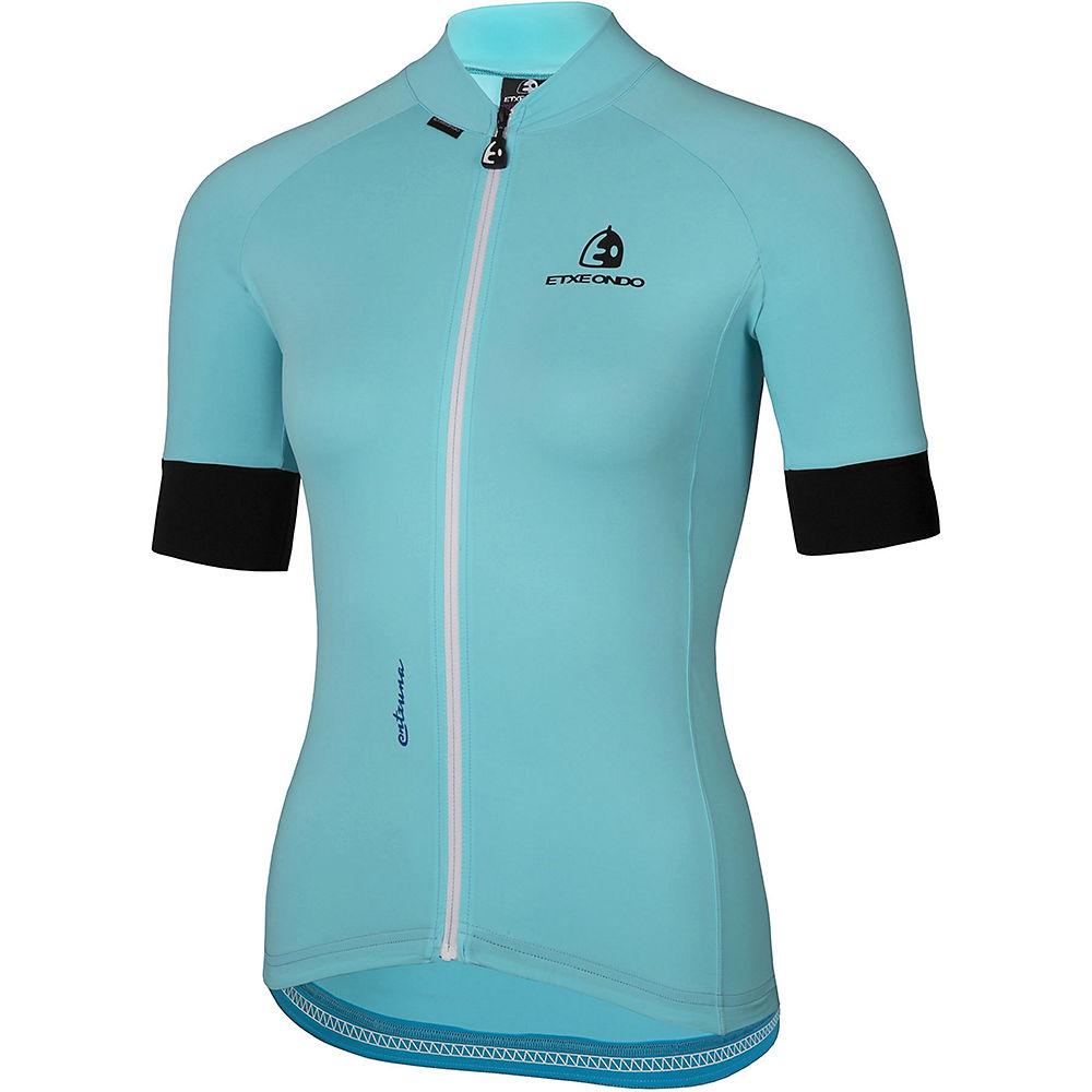 Etxeondo Womens Entzuna Jersey  - Turquoise - Xl  Turquoise