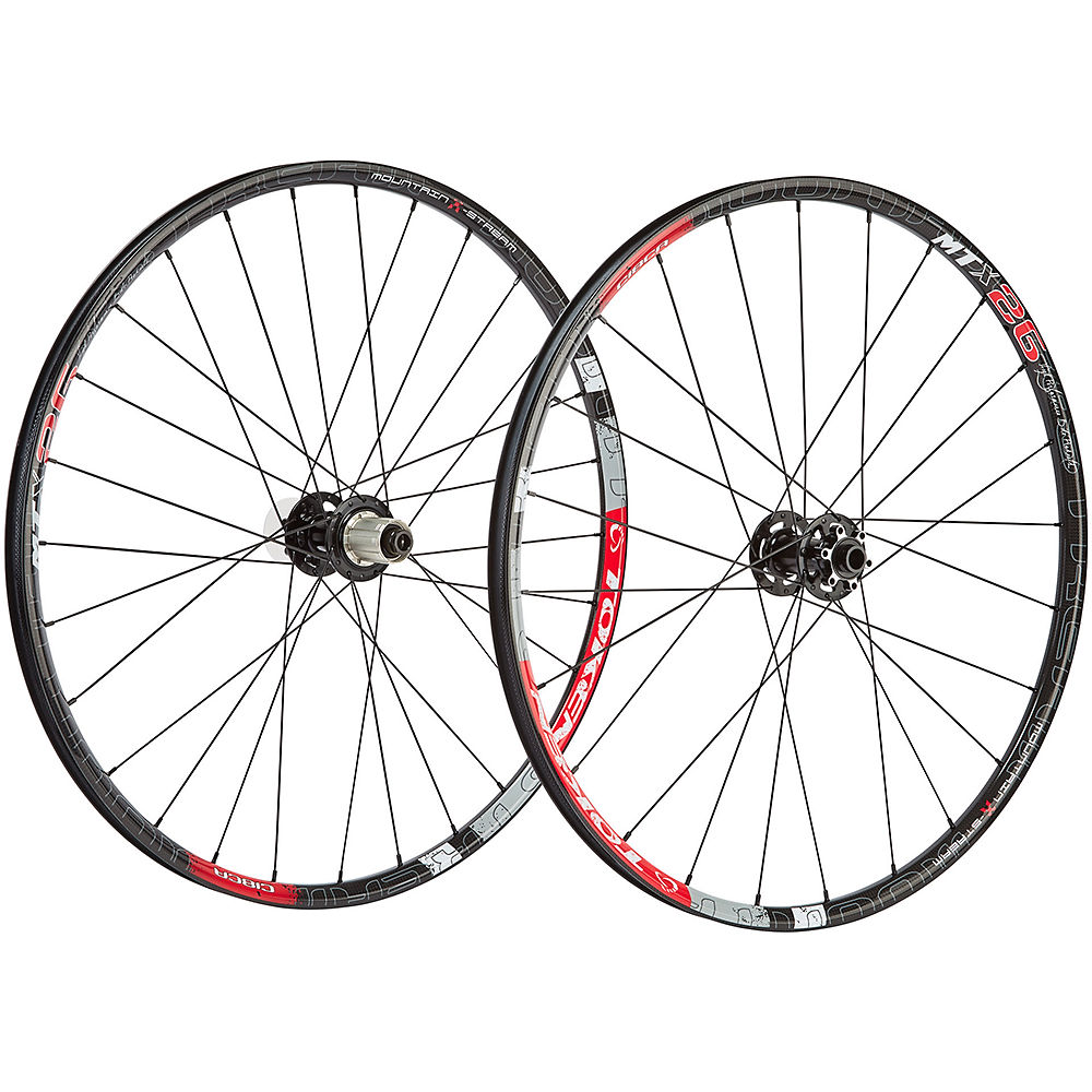 Token C18CA Carbon MTB Wheelset - Black - Shimano, Black