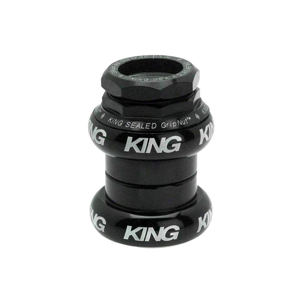 Chris King GripNut Headset - Black Bold Logo - 1
