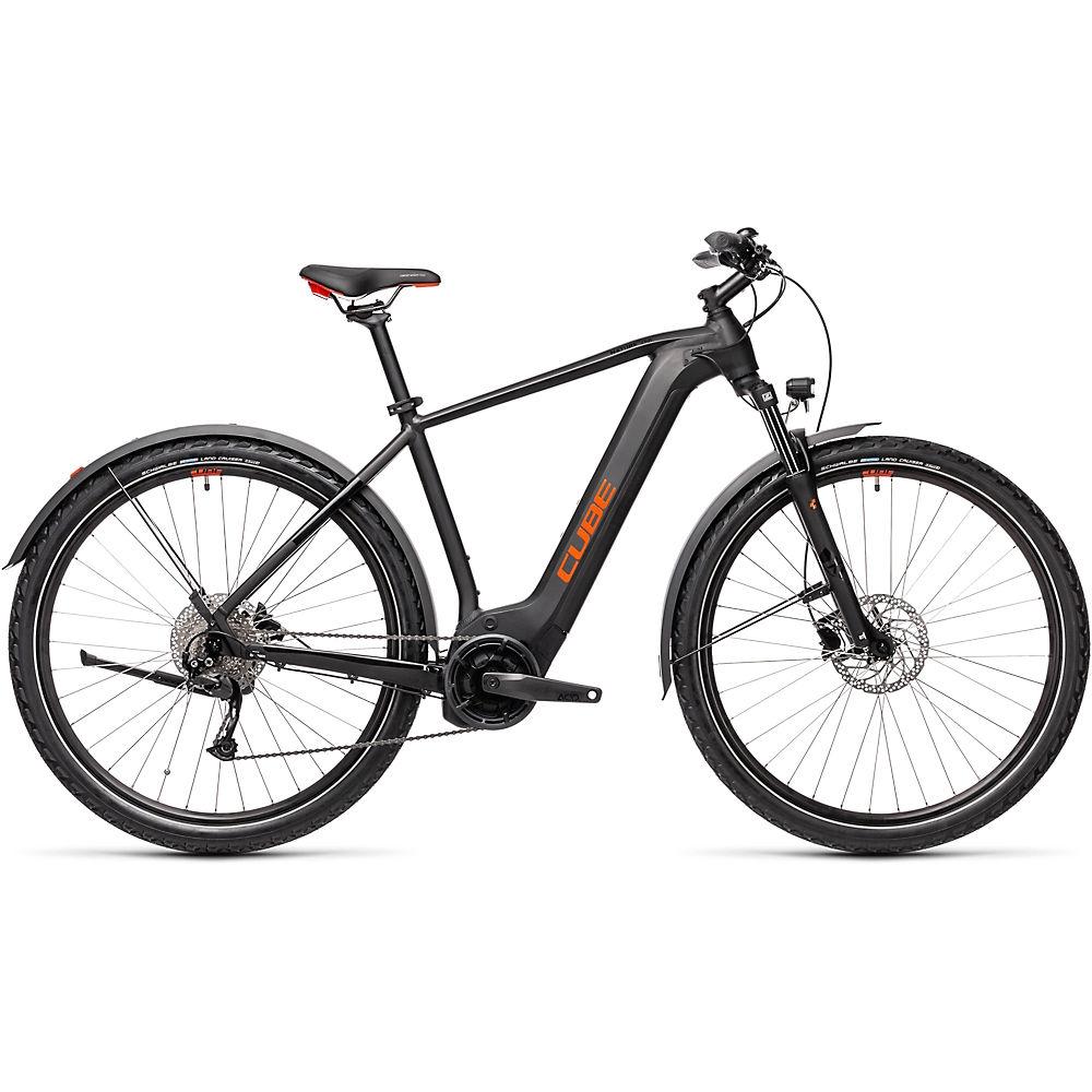 Cube Nature Hybrid One 500 Allroad E-Bike 2021 - Black - Red - 58cm (22.75