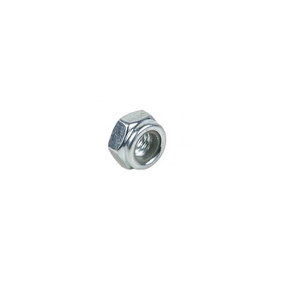 Sixpack Racing Vertic-icon Axle Nut - Silver - 5mm Left  Silver