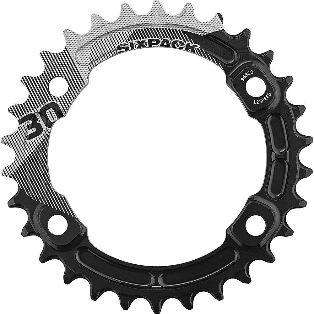Sixpack Racing K-ring Xt M8000 Narrow-wide Chainring - Black - 30t  Black