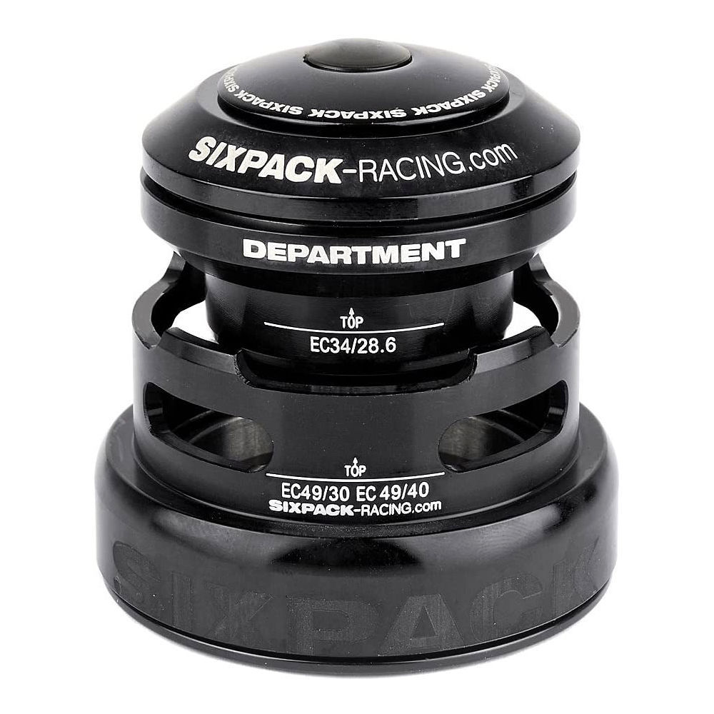Sixpack Racing Department 2in1 Headset - Black - Ec3449/28.6 Ec49/30  Black