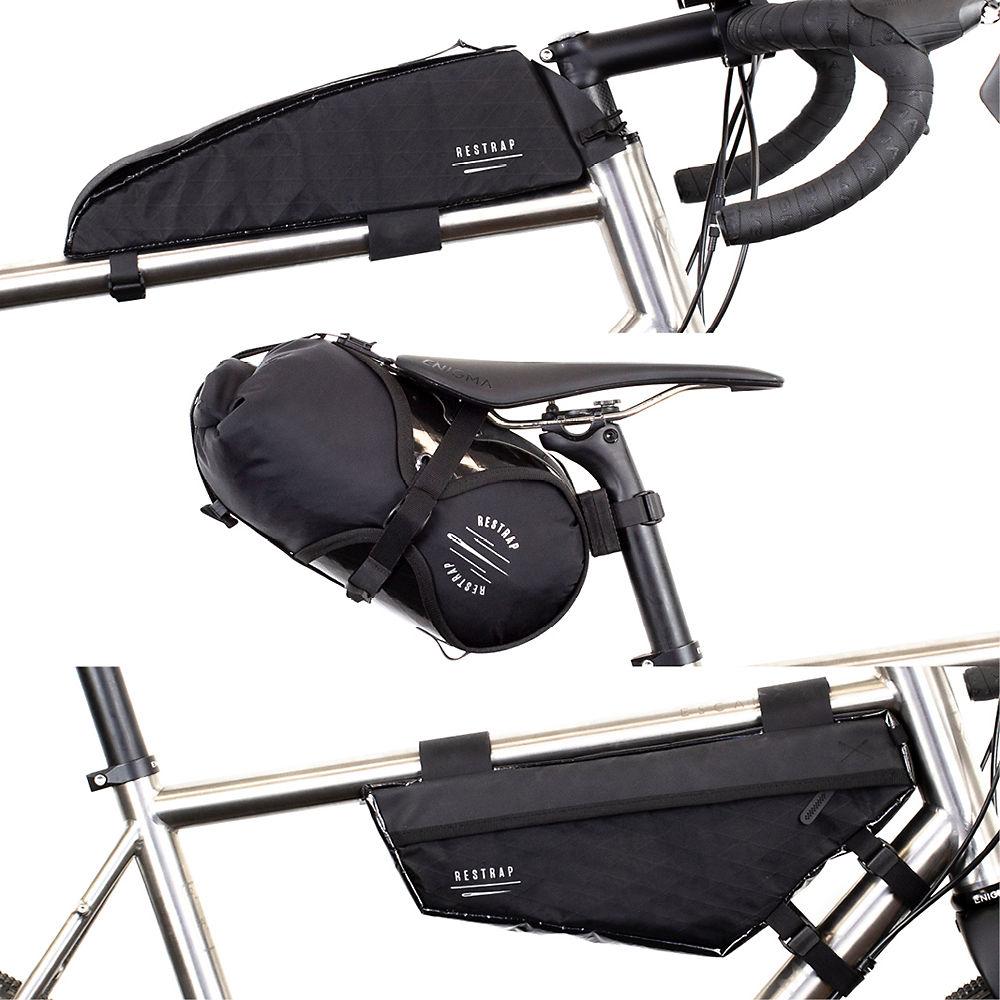 Restrap Race Bike Bag Bundle - Negro, Negro