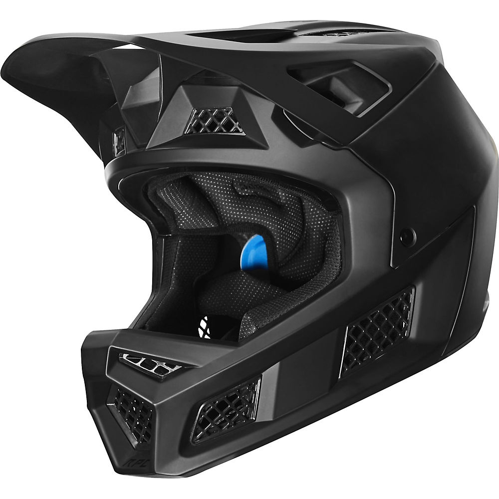 Fox Racing Rampage Pro Carbon Full Face MTB Helmet  - Negro - S, Negro