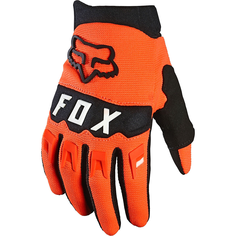 Fox Racing Youth Dirtpaw Race Gloves  - Fluorescent Orange - XS, Fluorescent Orange