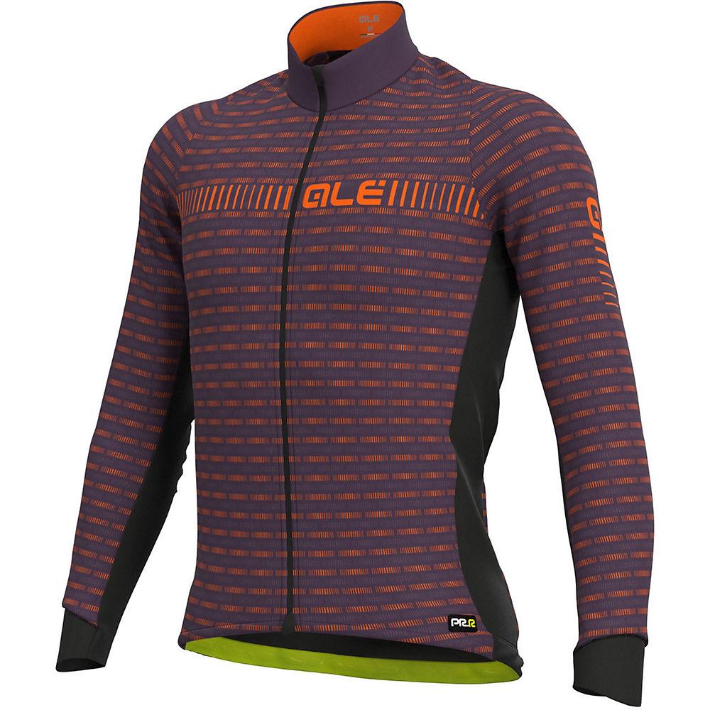 Alé Graphics PRR Green Road Winter Jersey - Plum Orange, Plum Orange