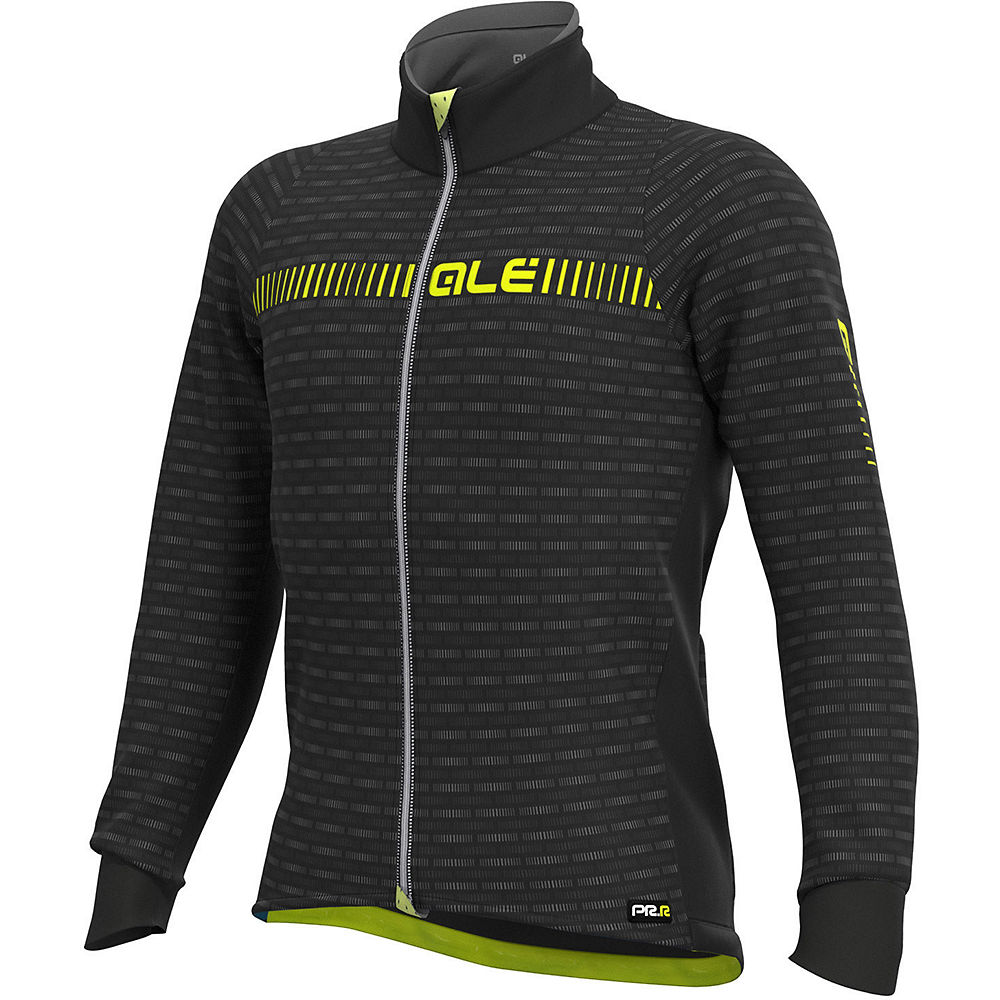 Ale Graphics Prr Green Road Winter Jacket - Black Yellow - M  Black Yellow