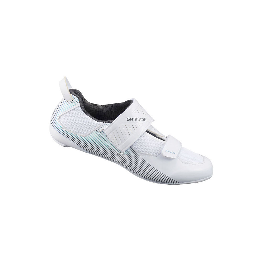 Shimano Women's TR5 Triathlon Cycling Shoes 2021 - White - EU 38, White
