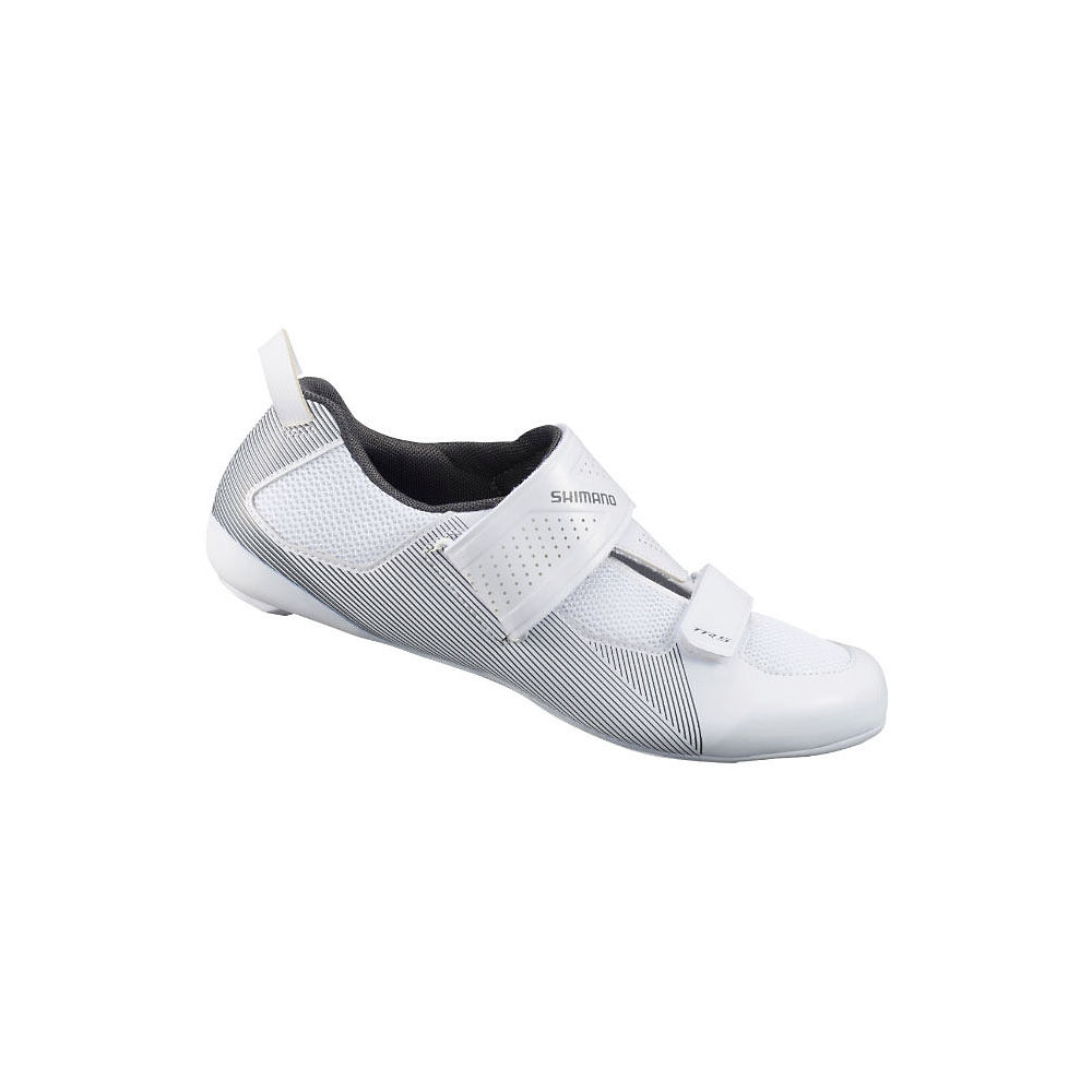 Shimano TR5 Triathlon Cycling Shoes 2021 - White - EU 43, White