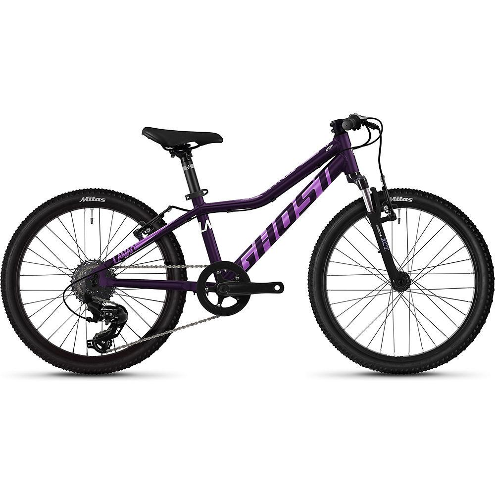 "ghost lanao 20 essential kids bike 2021 - 20"" - purple - purple"