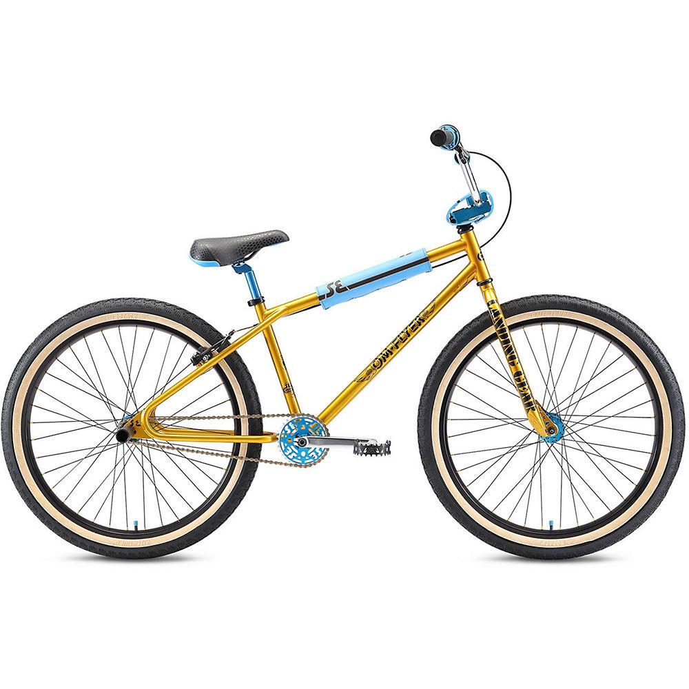 SE Bikes OM Flyer 26 2021 - Dorado, Dorado