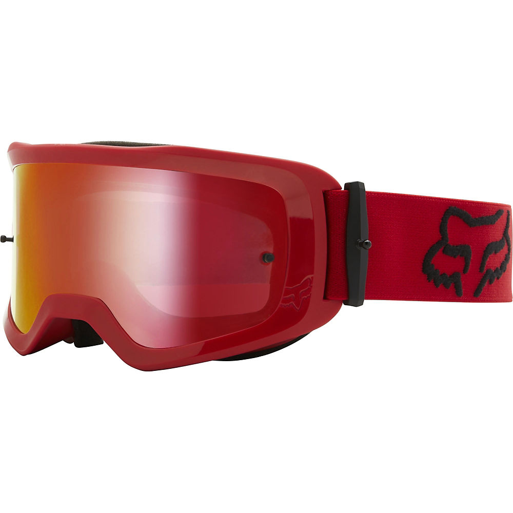 Fox Racing Main Stray Spark MTB Goggles (Mirror)  - Red, Red