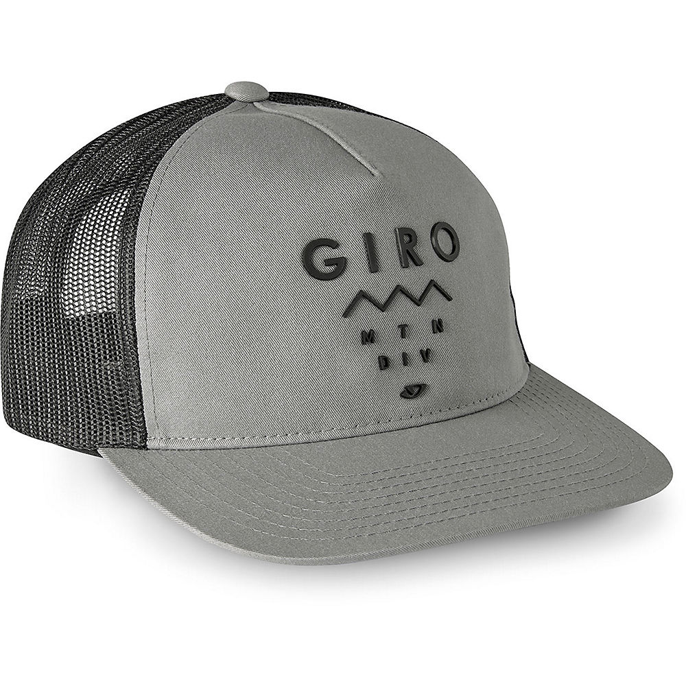 Giro Retro Trucker Cap 2019 - Grey Mountain Division - One Size  Grey Mountain Division