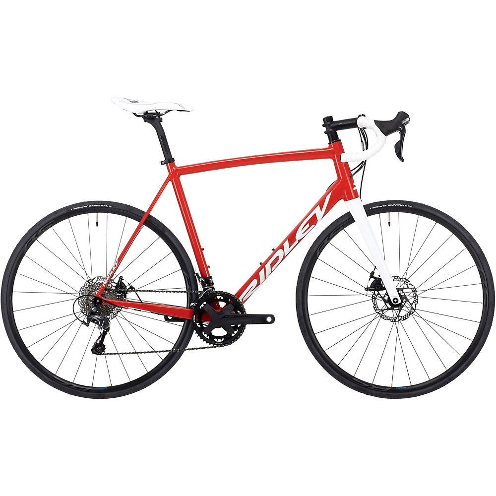 Bicicleta de carretera Ridley Fenix SLA Disco (Tiagra - 2021) 2021 - Rojo/Blanco, Rojo/Blanco