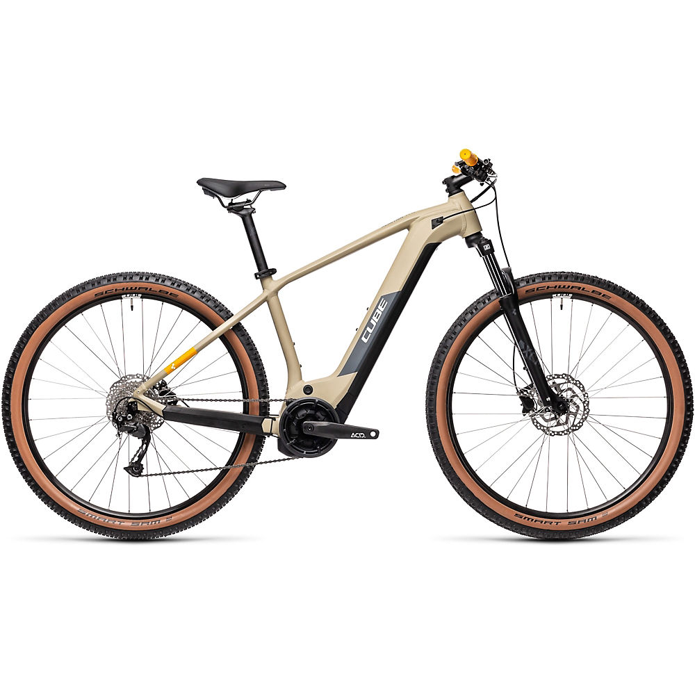Cube Reaction Hybrid Performance 625 E-bike 2021 - Desert - Orange - 19  Desert - Orange