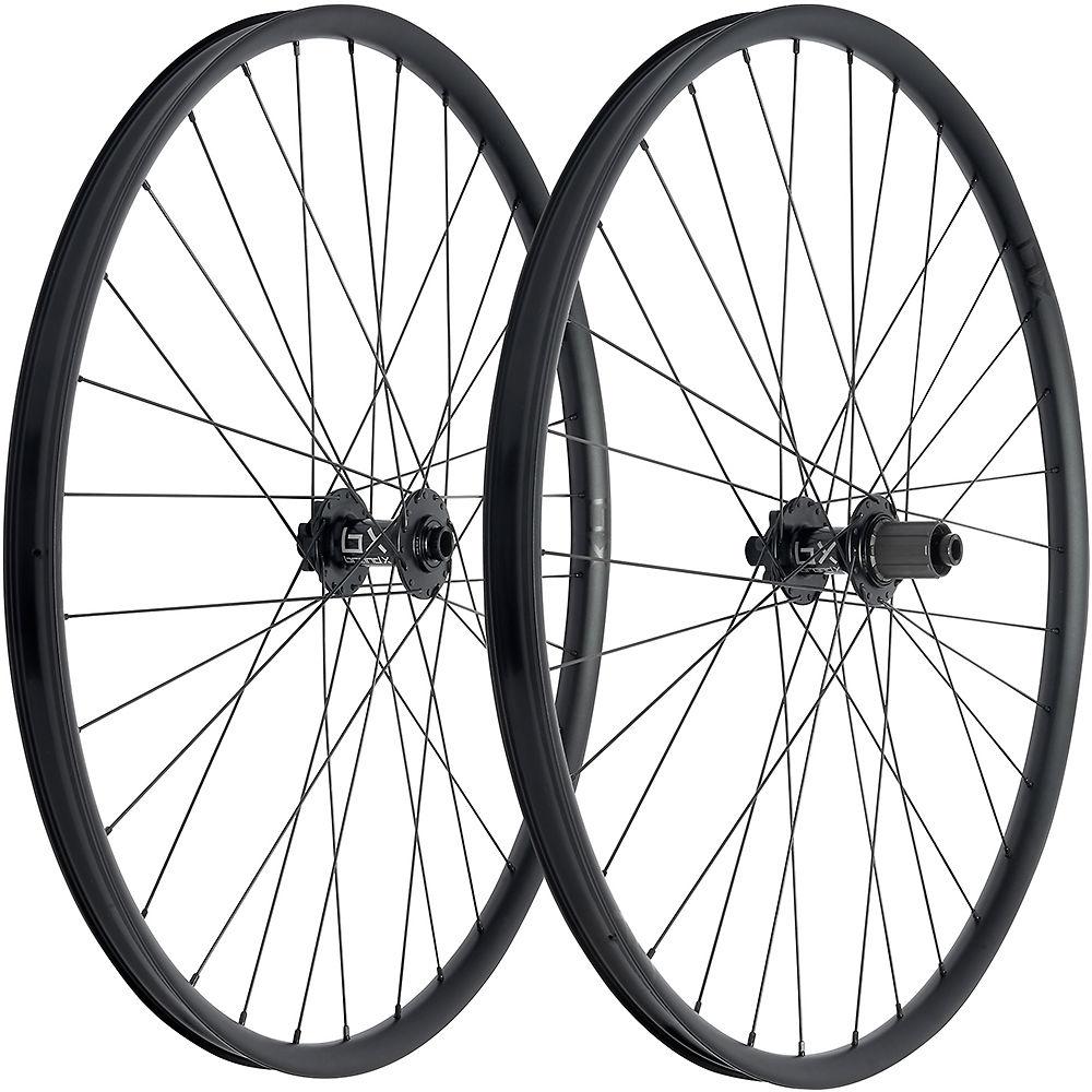 Brand-x Trail Wheelset - Black - 15mm X 100mm / 142mm X 12mm  Black