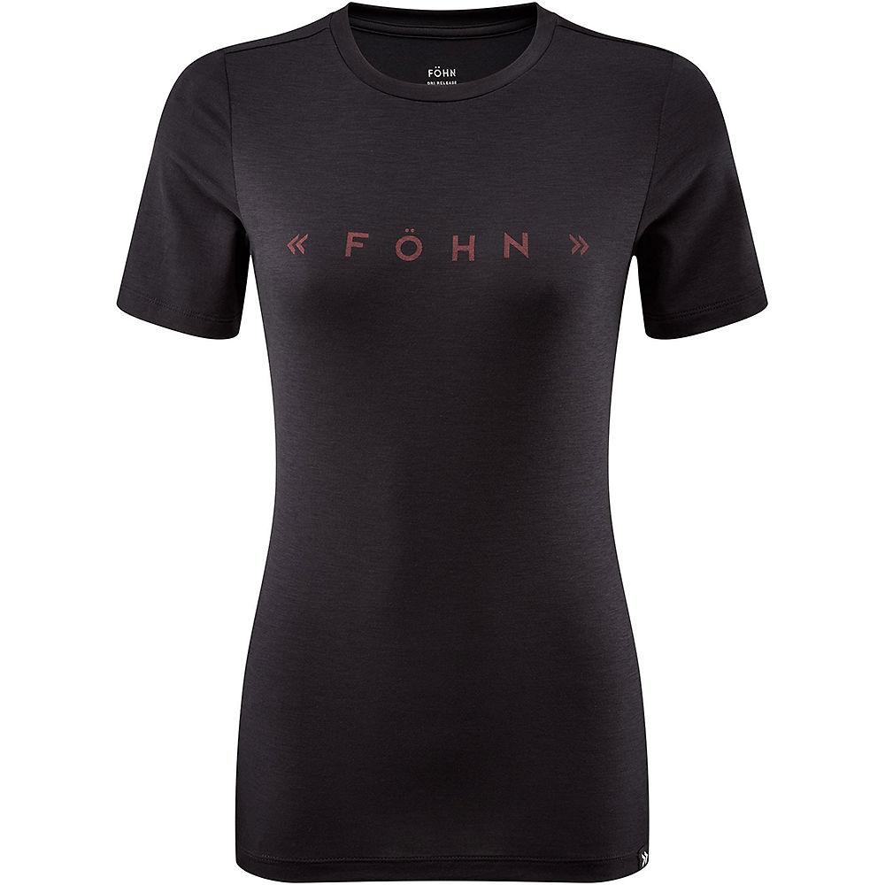 Fohn Womens Drirelease Tee - Black - Uk 10  Black