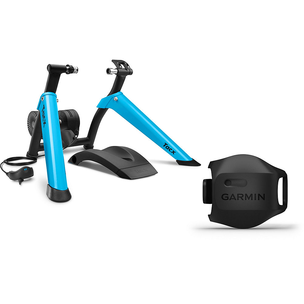 Tacx Boost Turbo Trainer Bundle - Blue -Black, Blue -Black