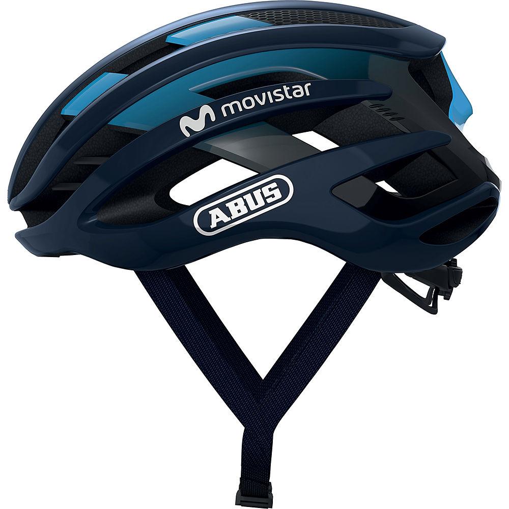 Abus Airbreaker Movistar Team Road Helmet 2020, Movistar Team