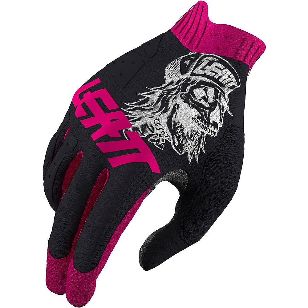 Leatt 1.0 GripR 80's Skull MTB Glove 2021 - Black, Black