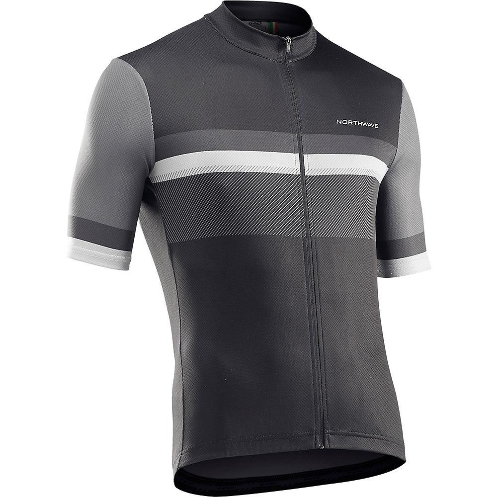 Northwave Origin Short Sleeve Jersey 2021 - Black - M  Black