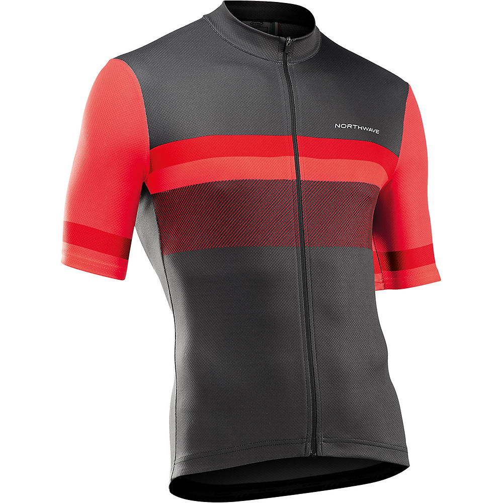 Northwave Origin Short Sleeve Jersey 2021 - Red  Red