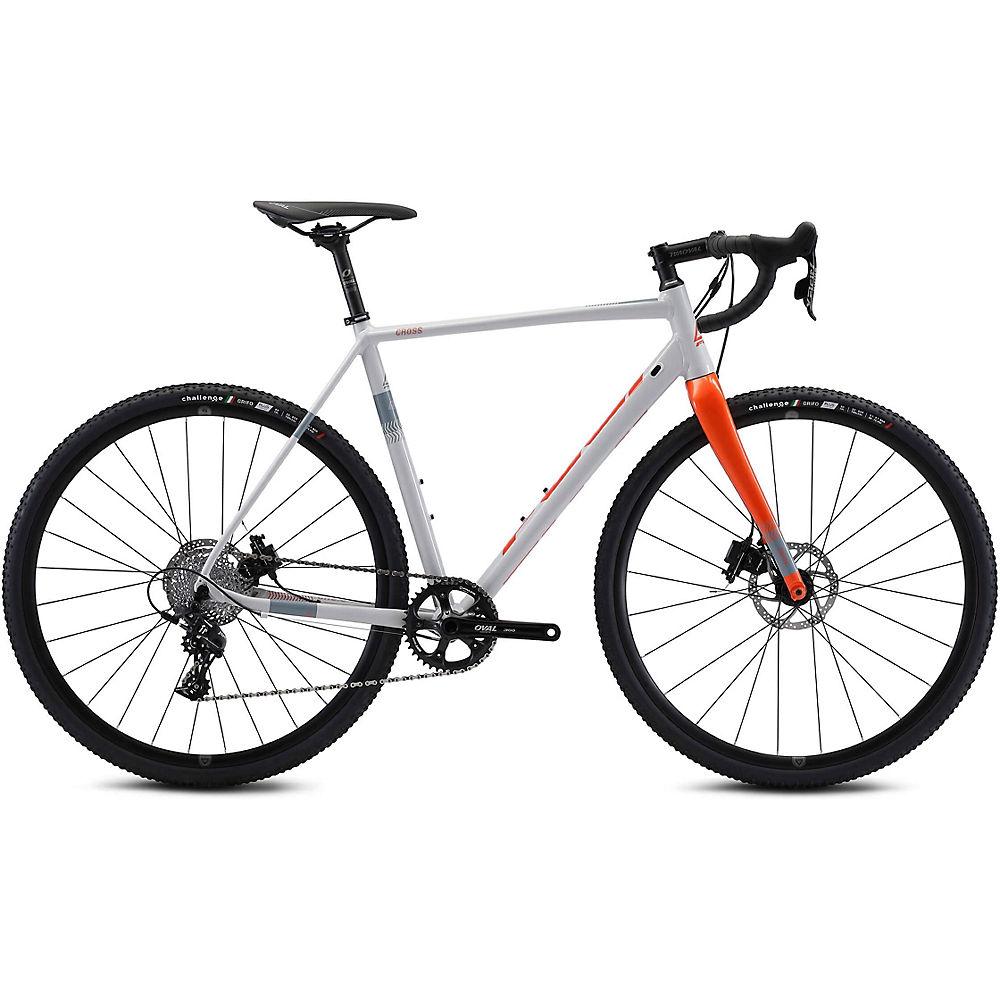 Fuji Cross 1.3 Cyclocross Bike 2021 - Grey - 58cm (22.75)  Grey