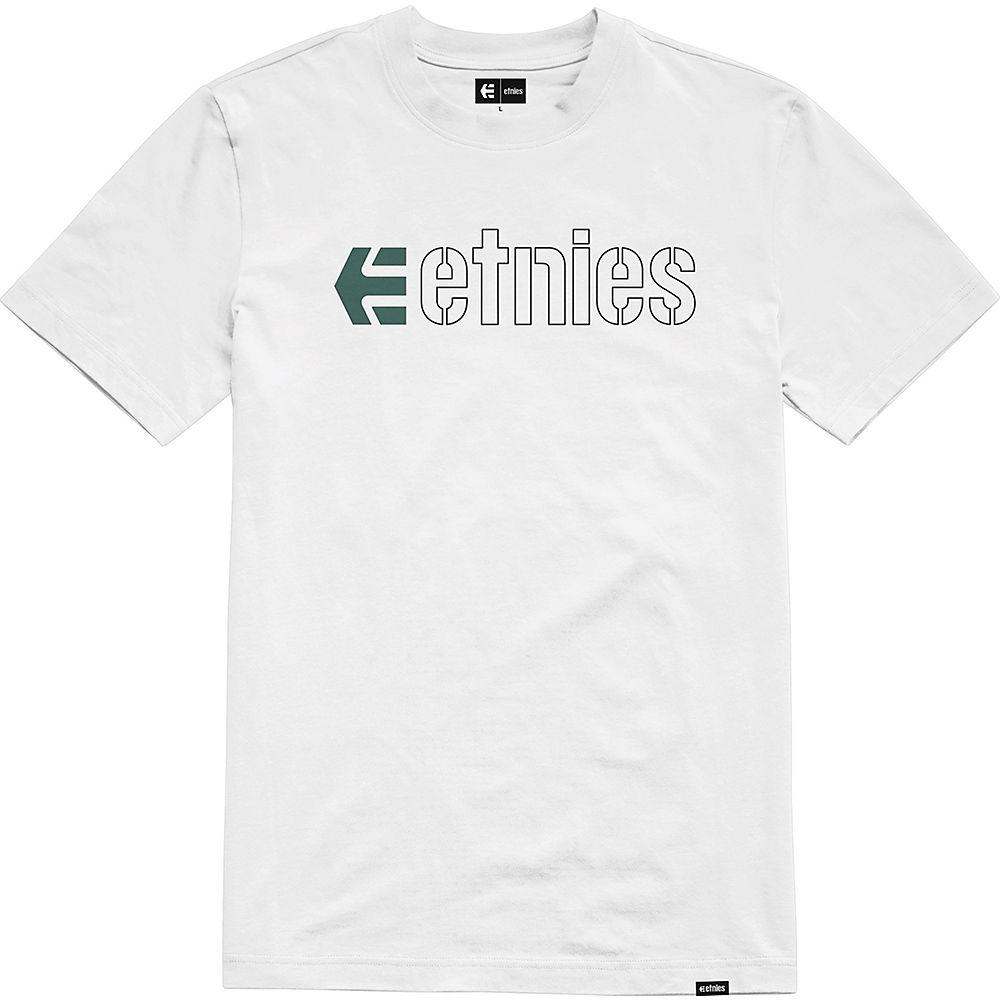 Etnies Ecorp Tee 2021 - White-black-green  White-black-green