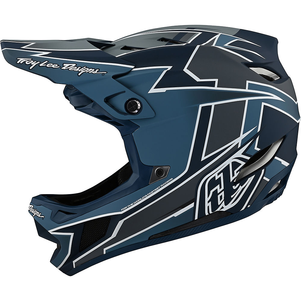 Troy Lee Designs D4 Composite Helmet 2021 - Graph Marine, Graph Marine