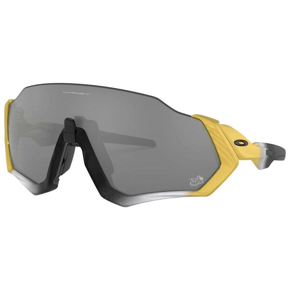 oakley flight jacket tdf edition sunglasses - trifecta fade