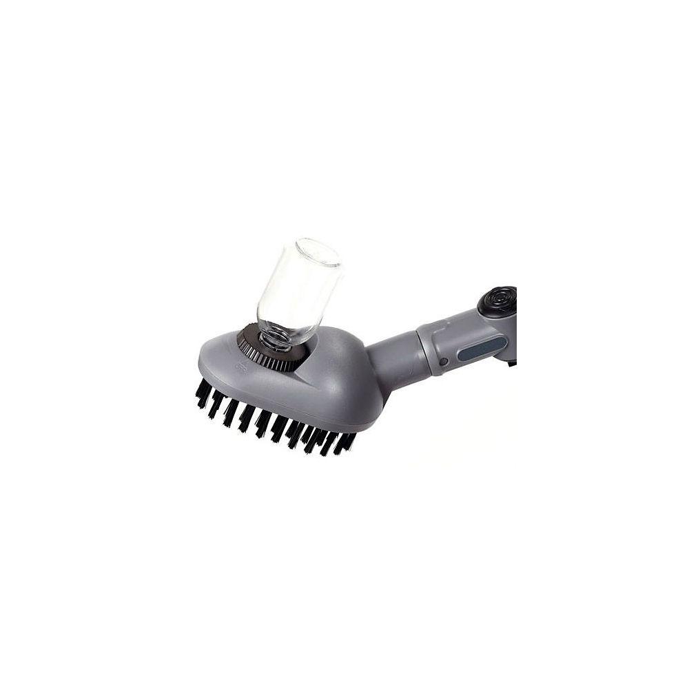 Aqua2go Clip On Brush Soap Dispenser - One Size - Grey