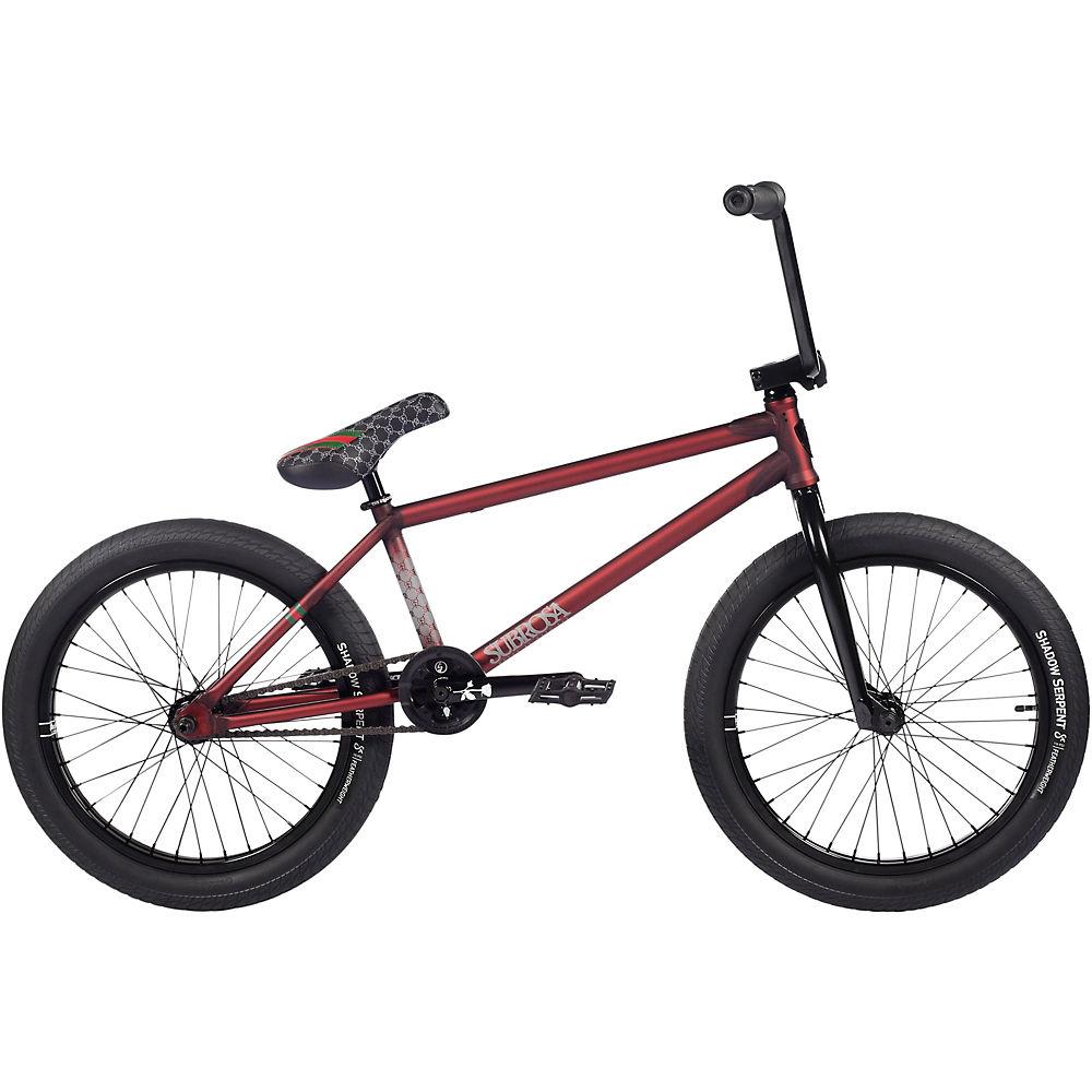 Subrosa Novus Ray Signature BMX Bike 2021 - Matte Translucent Red, Matte Translucent Red