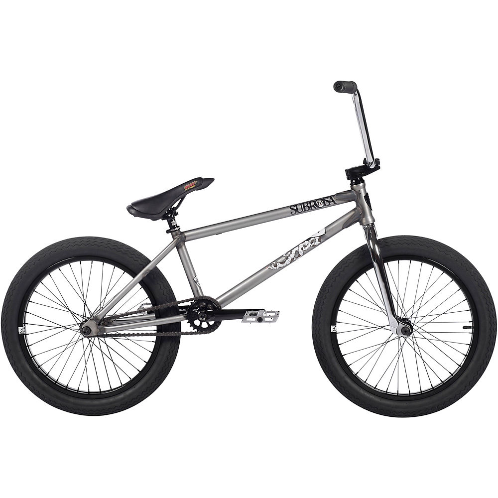Subrosa Novus Jones Signature BMX Bike 2021 - Matte Raw, Matte Raw