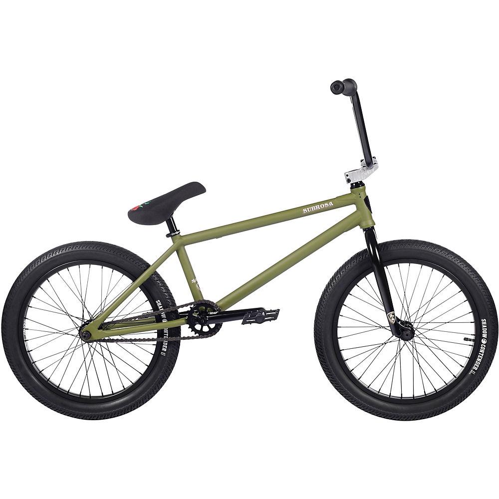 "subrosa malum bmx bike 2021 - 20"" - army green"